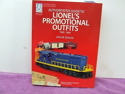 Lionel's Promotional Outfits ( John W. Schmid) Book