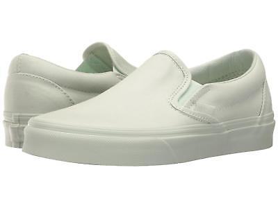 VANS CLASSIC SLIP On Mono Canvas Milky Green Men s Skate Shoes Size ... 122a8ad15