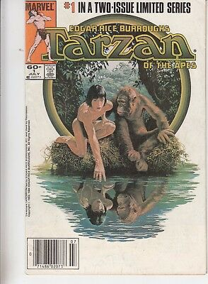 Tarzan: Of The Apes  #1 1984 Limited Series  Movie Adp -Dan Spiegle...vg+