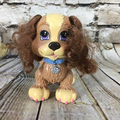 """Fisher Price Snap N Style Cocker Spaniel Puppy Dog 4"""" Tall Figure Free S/H"""