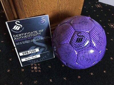Swansea City Signed Football