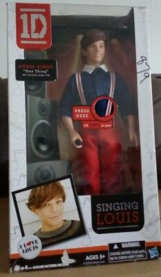 HASBRO SINGING ONE DIRECTION 1D DOLL LOUIS -Needs new batteries