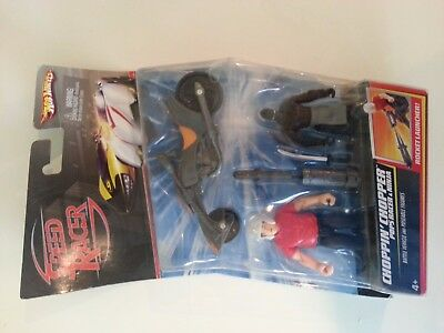 Speed Racer Action Figure 2-Pack: Chopper/Pops/Ninja New but non-mint package