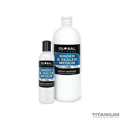Binder & Sealer Medium 250mL - 1 Litre  Professional Grade - Australian Made