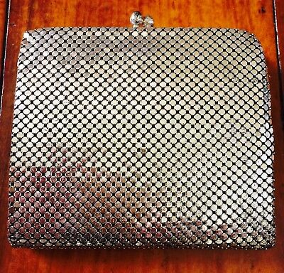 Vintage Glomesh style silver wallet