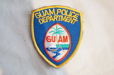 US Guam Police Patch 2 Small