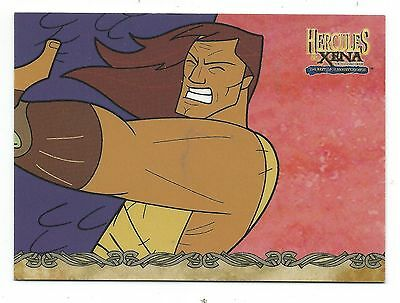 Hercules & Xena The Battle For Mount Olympus Trading Card Chase Card HX8 Good+
