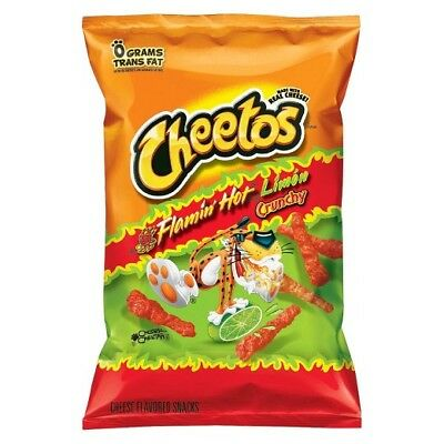 Cheetos Crunchy Flamin Hot Lime - 8.5oz  (Pack of 3)