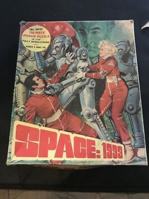Vintage Space 1999 150 Piece Jigsaw Puzzle Complete 1975 Hg Toys No. 497-03