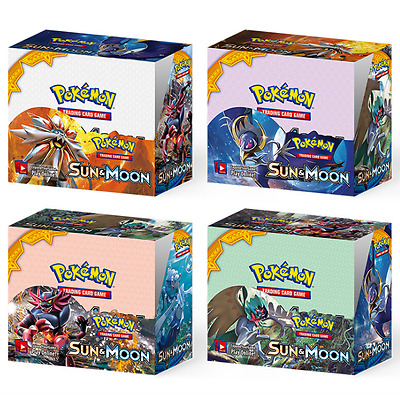 36 Packs Booster Box SM SUN & MOON Pokemon Trading Cards FULL ART MEGA EX GX