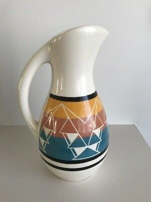 American Sioux Indian Artist Marion Selwyn Jones Jug