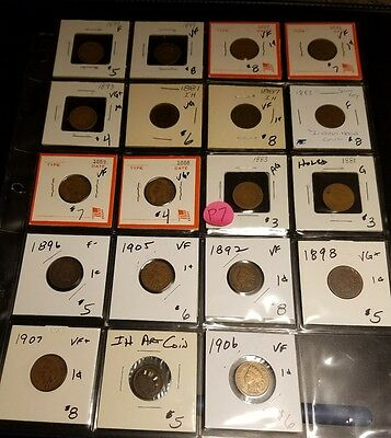 Small Cent Mixed Lot P7