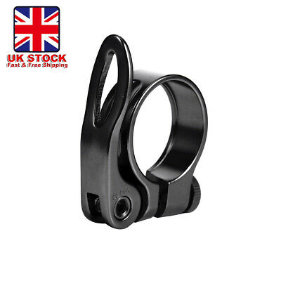 Mountain Bike Cycling Seat 31.8/34.9mm Quick Release Alloy Seat Post Clamp
