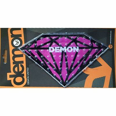 Demon Diamond Snowboard Stomp Pad NEW Board Traction purple pink