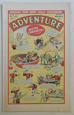 ADVENTURE #1015 - 12th April 1941