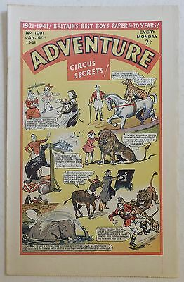 ADVENTURE #1001 - 4th January 1941