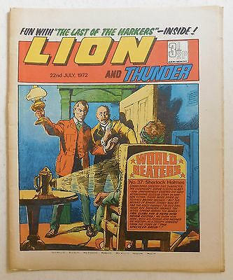 LION and THUNDER Comic - 14th October 1972