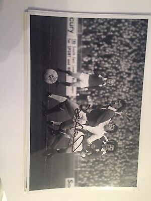 1970s Millwall Photo Hand Signed By Legend Barry Kitchener