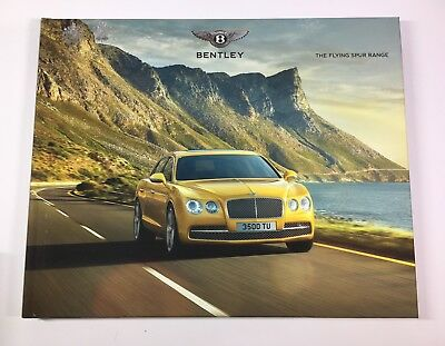 Bentley Flying Spur W12 And V8 Model Year 2017 Hardcover VIP Brochure