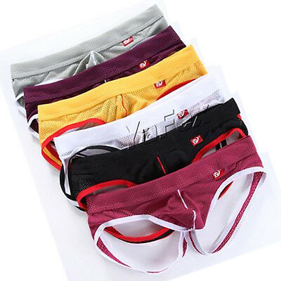 New Men Sexy Underwear trunks Shorts Boxers Briefs-Lingeries G-string Underpants