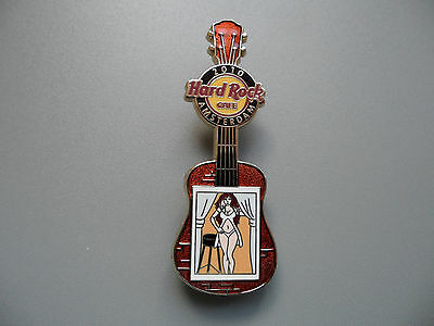Hard Rock Cafe Amsterdam 2010 - Sexy Virgo - Red Light District Guitar Serie Pin