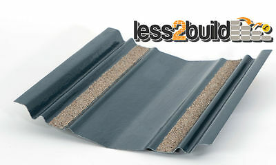 Universal Roof Valley Trough Tray 3.0m Long GRP LEAD