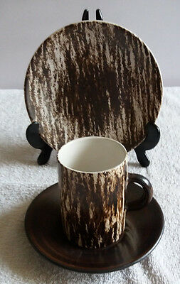 Cinque Ports The Monastery Rye, Studio Pottery Coffee Cup Saucer & Side Plate