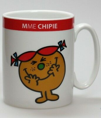 Mug Monsieur Madame : Mme Chipie - Avenue of the Stars (Neuf)