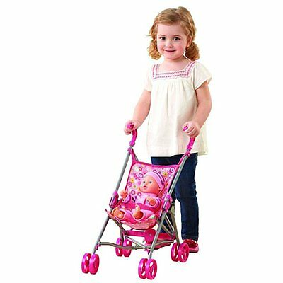 You & Me Stroller and Baby Doll Set