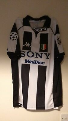 Juventus Kit Jersey Del Piero #10 97/98 Home  Vintage Retro XL
