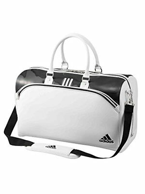Adidas Golf Boston Bag Tour 360 W/ Shoes In Pocket Awt64 H31 X W50 X D24Cm White