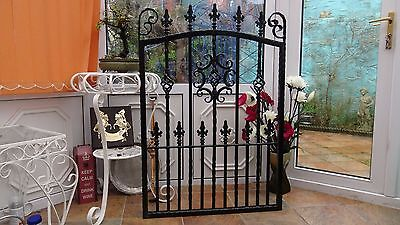 Wrought Iron Gate, single gate, garden gate fabricated house side gates