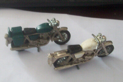 Motorcycles Britains 1970s 2  green & white