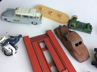 Dinky France Solido Crescent Britains Citroen Lincoln Zephyr Collection Lot