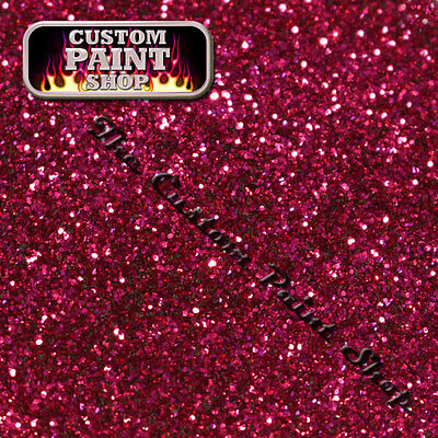 "Metal Flake, Custom Paint FECKIN FUSCHIA  50grams Medium (200micron 0.008"")"