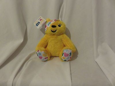 "7"" cute soft children in need pudsey bear be a hero matrixapa plush doll new tag"