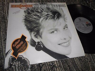 "C.C.CATCH Good guys only win in movies +2 12"" MX 1988 SPAIN bohlen RARE COVER"