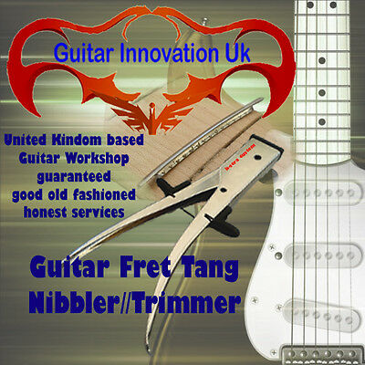 Guitar Fret Tang Trimmer/Nibbler, project, repairs
