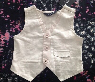 Peter Morrissey Boys Vest Size 1 New
