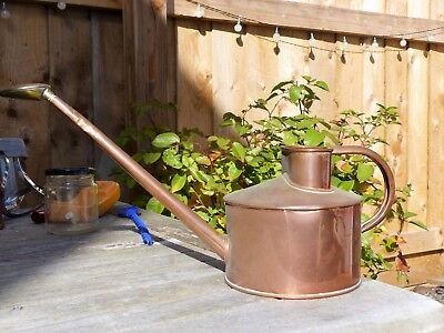 Shabby Chic  Early 1950S Genuine Haws Copper Watering Can