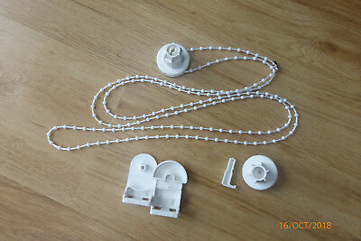 25mm Heavy Duty Delux Roller Blind Side Winder Chain Click Type Kit For Repairs