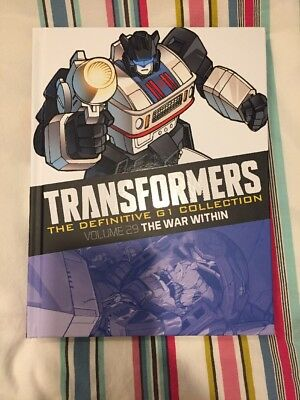 TRANSFORMERS DEFINITIVE G1 COLLECTION Volume 29 - The War Within