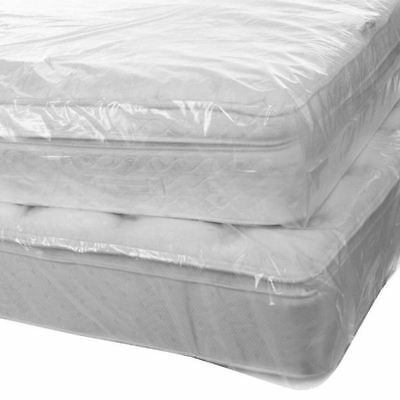 Heavy Duty Single Bed Mattress Protector Dust Removal Cover Storage Bag