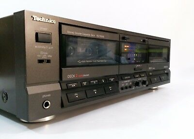 TECHNICS RS-TR255 Double Cassette Tape Deck Dolby B C - GWO - FREE UK DELIVERY