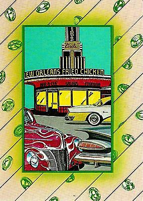 1981 Camden Graphics Greeting Card 'fast Food' By Jim Heimann