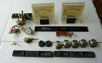 Akai GXC-510D cassette tape deck assorted spares and parts.