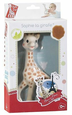 Sophie The Giraffe In Fresh Touch 100% Natural Rubber Dummy Toy Kids Toddlers