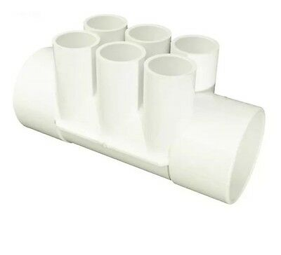 """Hot Tub Spas Spares Parts Pvc Manifold Fitting2"""" Female 6 3/4"""" Waterway 672-4270"""