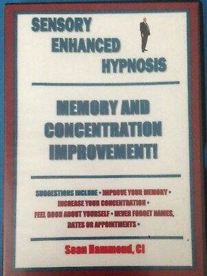 Hypnotherapy for Self Hypnosis Audio CD Memory & Concentration Improvement