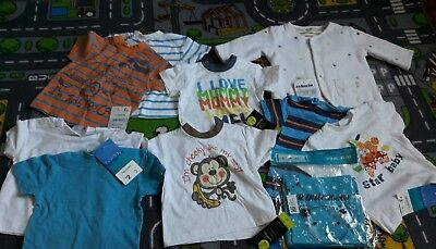 baby boys clothes 0-3 months bundle NEW WITH TAGS
